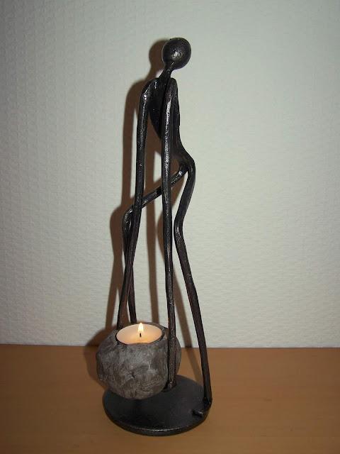 sculpture fer forgé