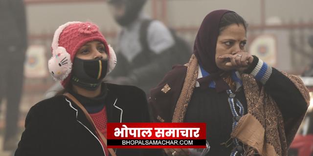 मध्य प्रदेश पर सर्द हवाओं का हमला जारी है, 8 जिलो में तापमान 3 डिग्री से नीचे | MP NEWS
