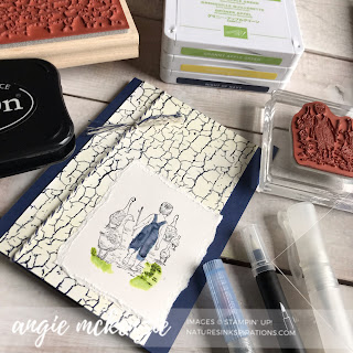 Soft Watercolor Heartland for #GDP193 | Supplies by Stampin' Up!® | Nature's INKspirations by Angie McKenzie