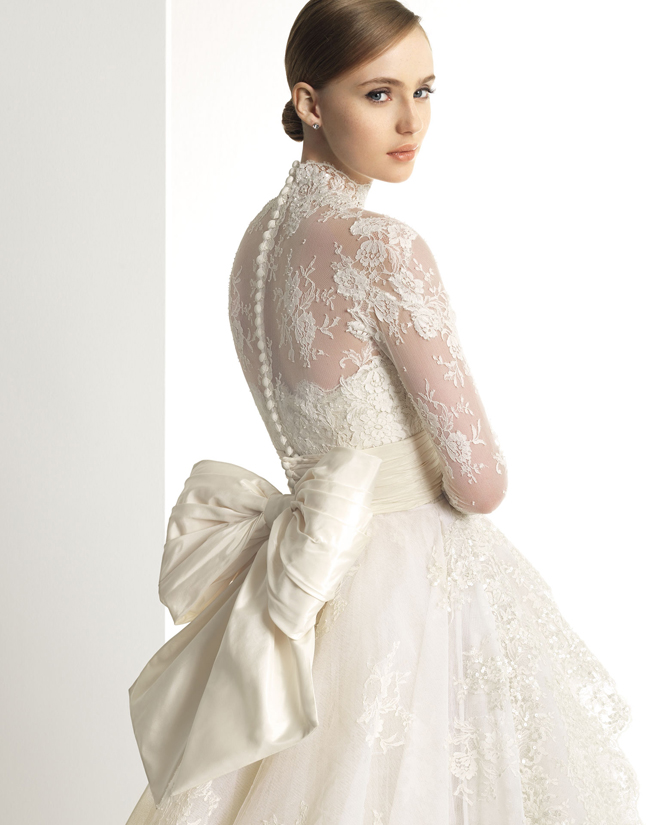 Lace back wedding dresses part 4 belle the magazine images sources and dress designers 1 by rosa clara 2 by veluz reyes 3 by allure bridals spring 2013 4 by zuhair murad 5 by angelina faccenda 6 junglespirit Choice Image