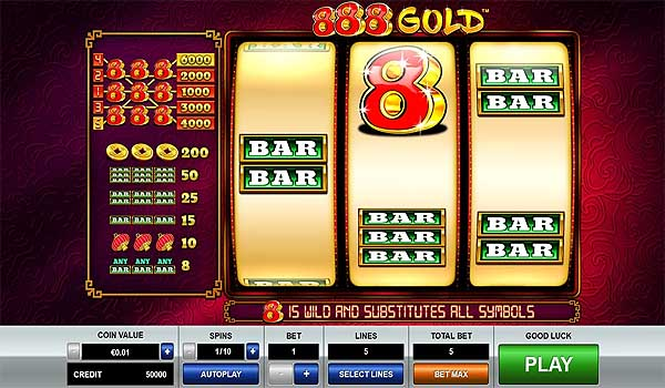 Main Gratis Slot Indonesia - 888 Gold (Pragmatic Play)