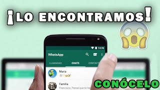increíble truco oculto de WhatsApp