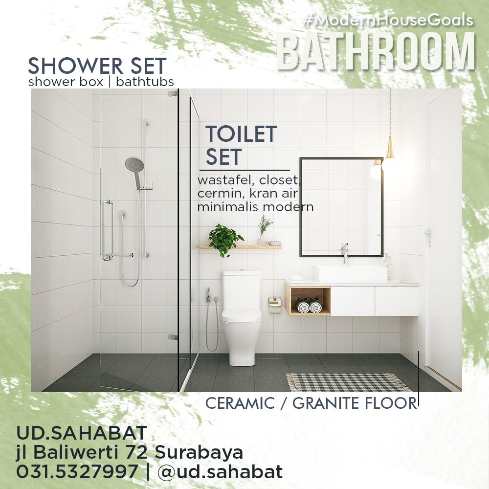 jual sanitair kamar mandi peralatan modern minimalis toto ud sahabat surabaya