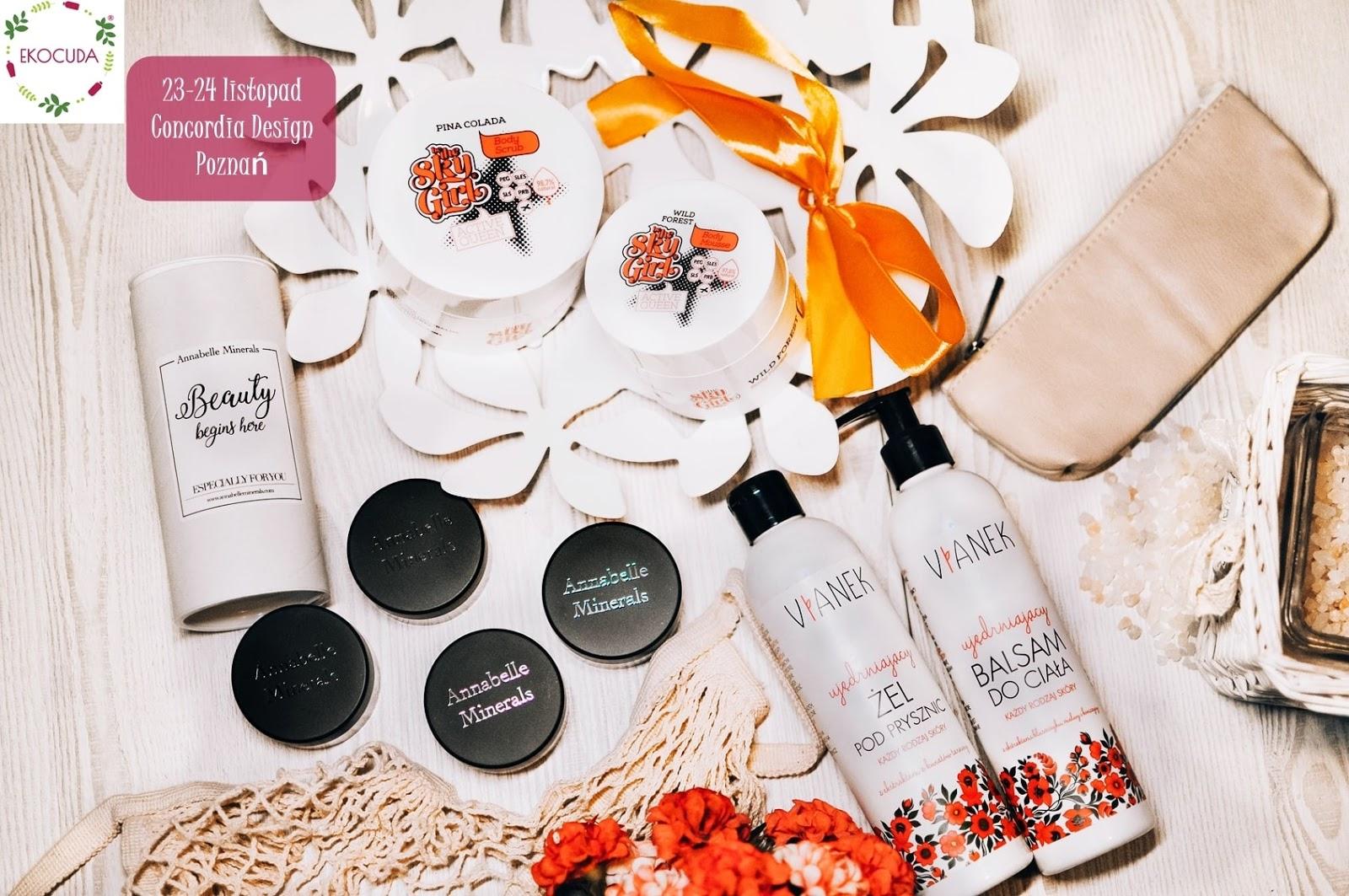 Gdzie kupić naturalne kosmetyki - Ekocuda Poznań 23-24 listopada