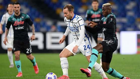 ملخص واهداف مباراة انتر ميلان ونابولي (1-1) الدوري الايطالي