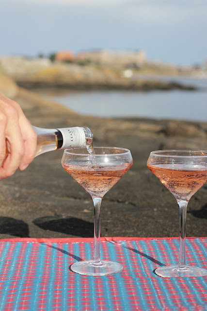 annelies design, webbutik, webshop, champagneglas, bubbles, getterön, varberg, strand stranden, glas