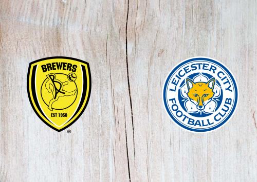 Burton Albion vs Leicester City -Highlights 29 October 2019