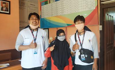 Koordinasi penyerahan Video Edukasi New Normal oleh Tim KKN-XV UBB desa Ibul-wisataibul.com