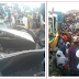 Photos: 4 killed as Lorry falls on commercial bus carrying students of Fed. Government Girls College Oyo