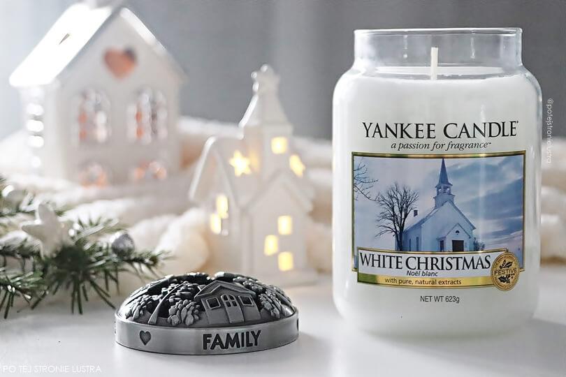 świeca yankee candle white christmas nowość 2018