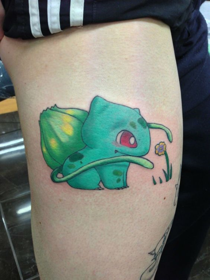 Inspiração: Tatuagens fofas para fãs de Pokémon!