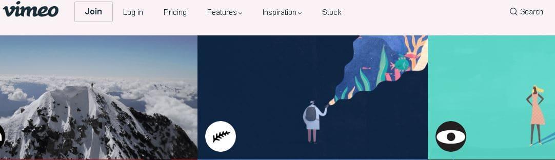 15- موقع Vimeo