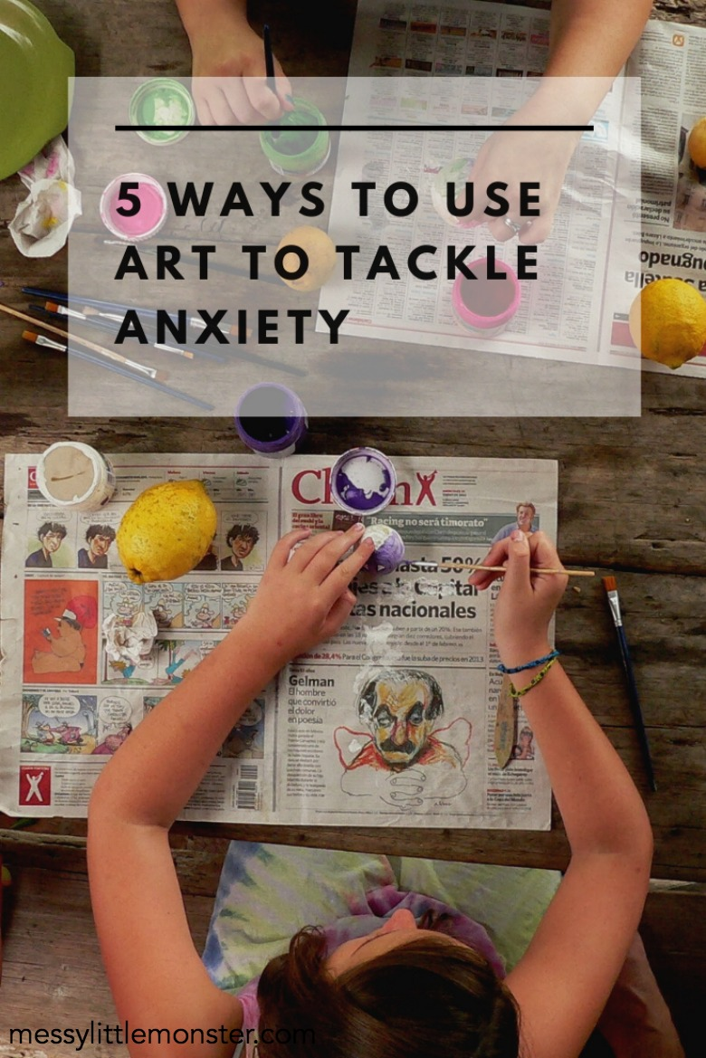 art to tackle anxiety