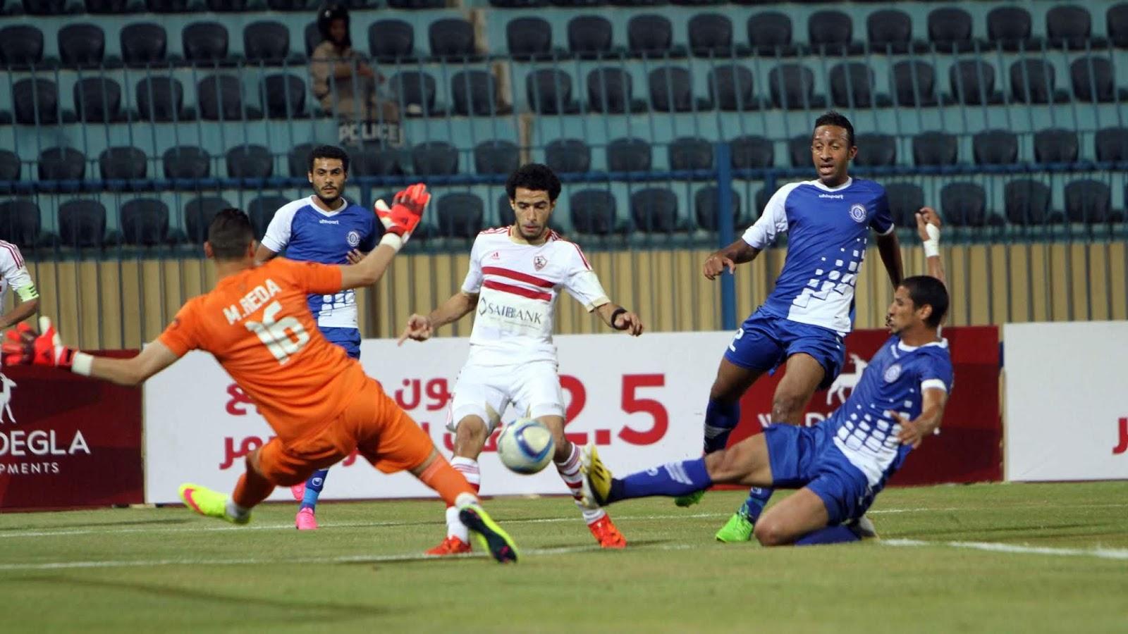 نتيجة مباراة الزمالك واسوان بتاريخ 02-01-2020 الدوري المصري