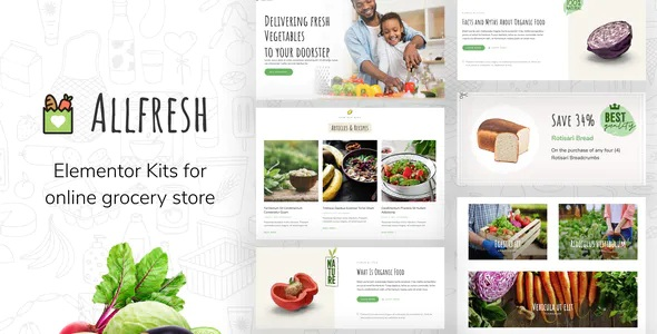Best Grocery Store Template Kit