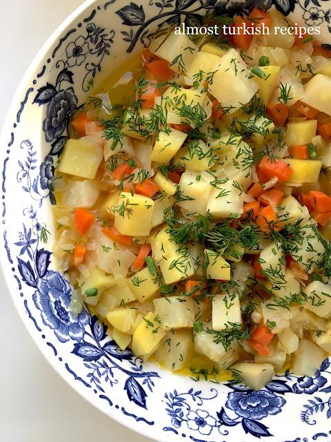 Celery Root With Orange Or Tangerine Juice