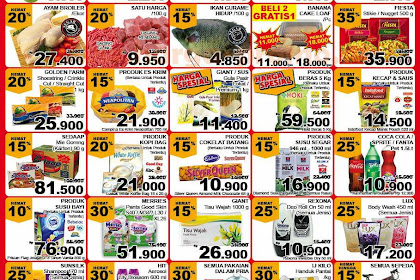 Promo Giant JSM Weekend 22 - 24 Februari 2019