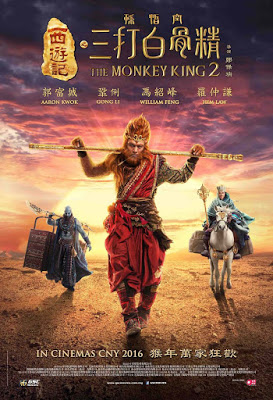 The Monkey King 2 (2016) 400MB 576P BRRip Dual Audio Cam-[Hindi-Tamil] ESubs