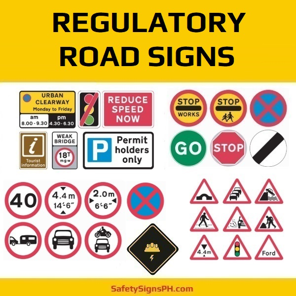 Custom Regulatory Road Signs Philippines