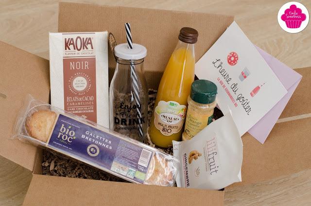 L'Heure du goûter -La box de gourmandises bio-  Box découverte