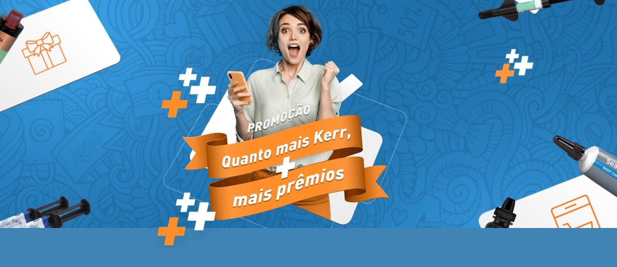 Promoção Produtos KERR 2021 Quanto Mais Kerr Mais Prêmios