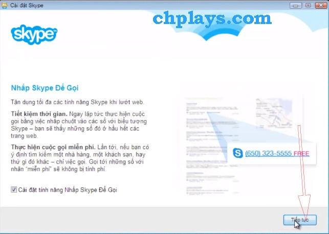 Hướng dẫn Cài đặt Skype trên máy tính b