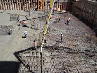 Mass concrete project and the details for the work