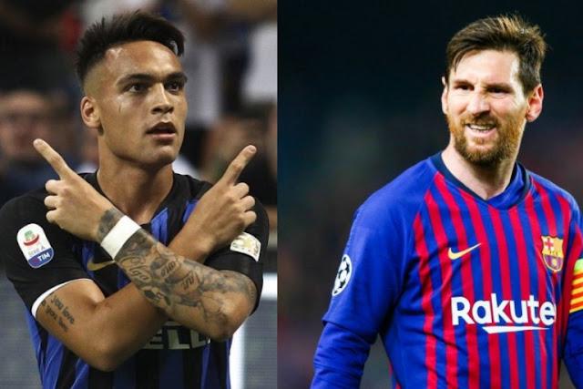 FOOTBALL , Barça , Mercato , Lionel Messi , Lautaro Martinez , FOOTBALL-4U
