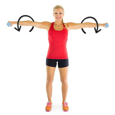 Exercises to Tone Up Flabby Arms in 5 Minutes