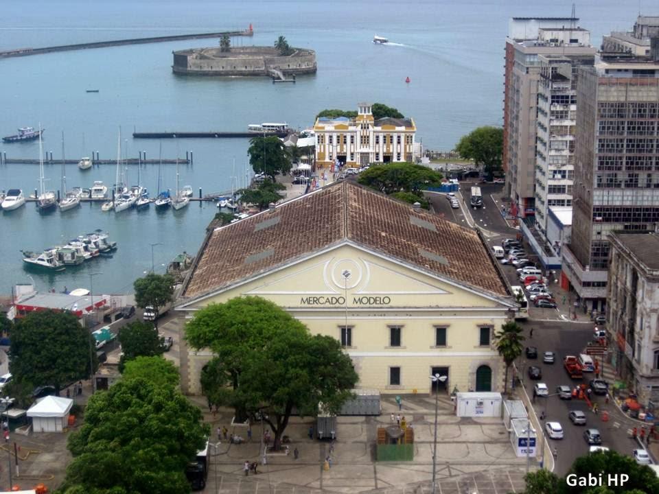 Vista Mercado Modelo Salvador Bahia