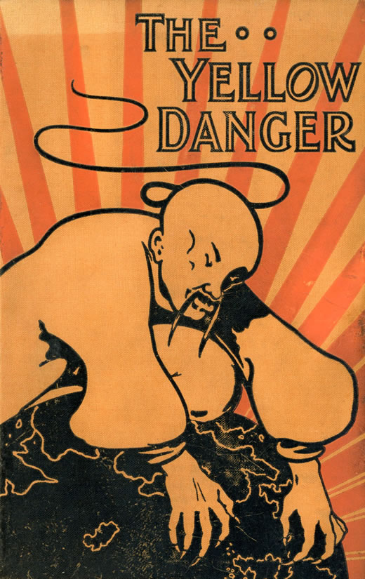 The yellow danger poster