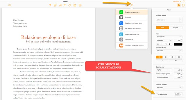 editor icloud pages