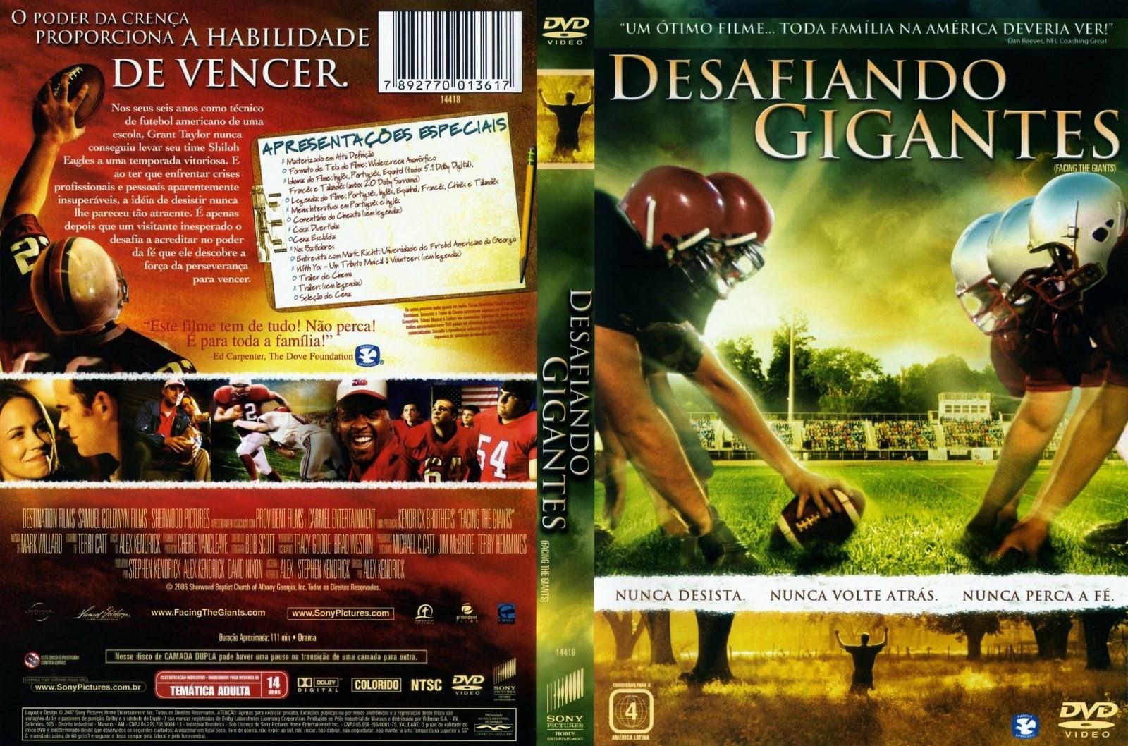filme desafiando gigantes dublado completo