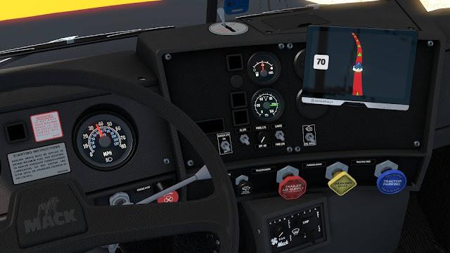 ats mack r series truck mod v1.35 screenshots 2