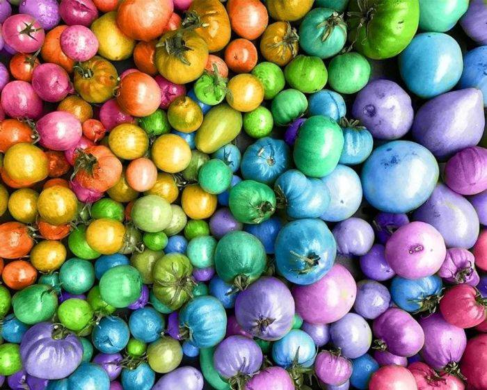 Multi-colored and Vibrant Vegetables