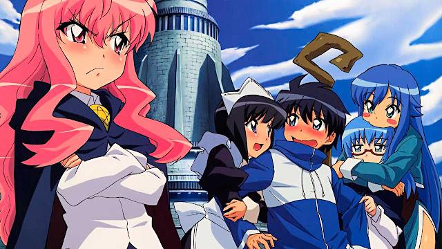 Episodios Zero no Tsukaima : Relleno y Orden Cronológico