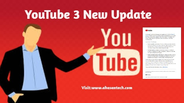YouTube 3 New Update. [Changes to YouTube's Terms of Service]