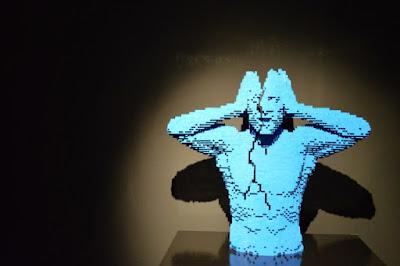 Lego splitting headache. By Matt Brown, 2014.