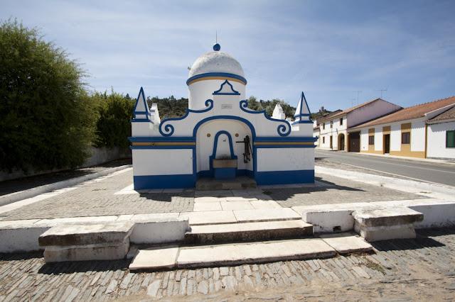 Fontana in tipico stile portoghese