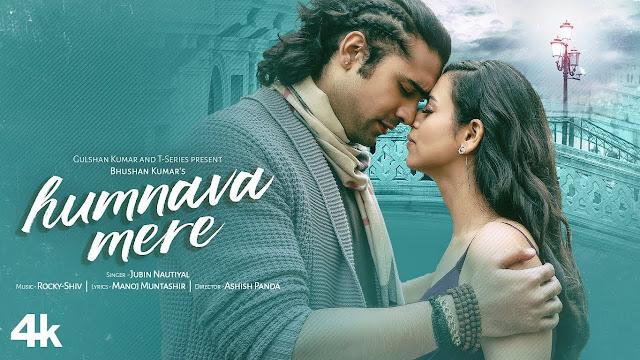 Humnava Mere Hindi Lyrics-jubin nautiyal | manoj Muntashir