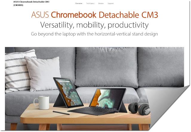 Asus Chromebook CM3 Detachable I Can't Believe It's Detachable