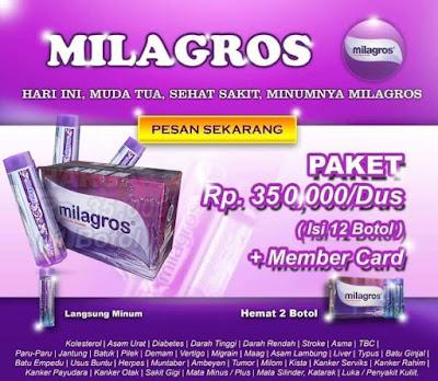 harga produk milagros