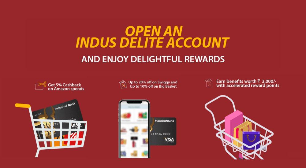 IndusInd Bank Zero Balance Online Account Opening Process