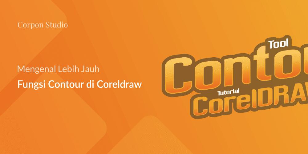 Fungsi Contour Tool CorelDRAW
