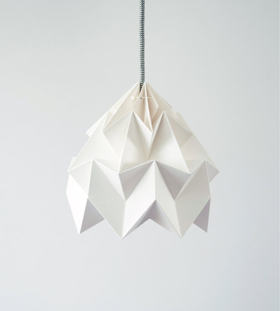 aesthetic oiseau origami lamp shades. Black Bedroom Furniture Sets. Home Design Ideas