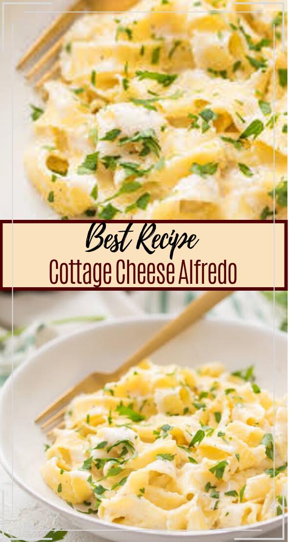 Cottage Cheese Alfredo #healthyfood #dietketo #breakfast #food
