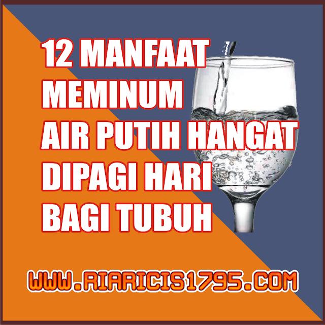 12 Manfaat Meminum Air putih Hangat di Pagi Hari bagi Tubuh
