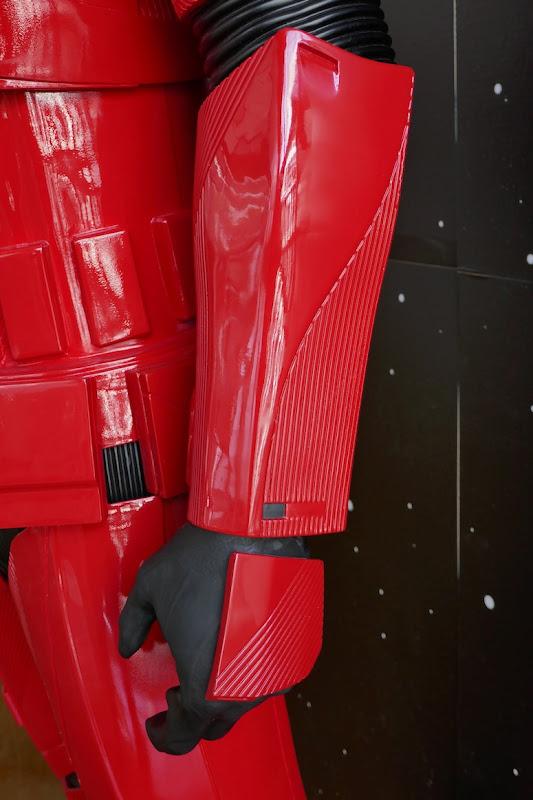 Sith Trooper armour arm detail Star Wars Rise Skywalker