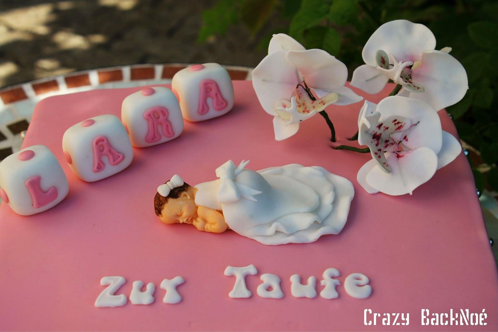 Crazy BackNo Tauftorte fr Lara Sofia
