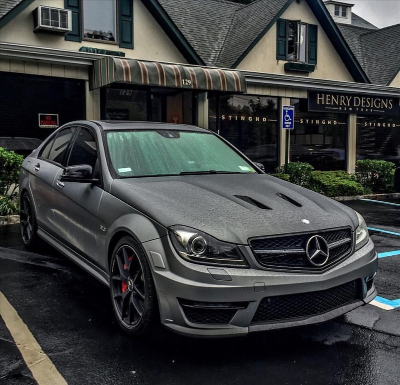 Supercar Mercedes C63 AMG 001
